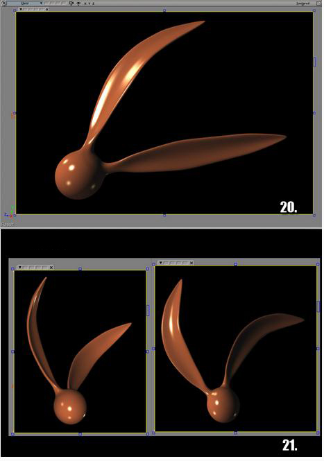 softimage xsi教程:利用softimage xsi创建兔子耳朵