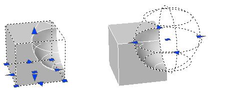 AutoCAD修改复合实体和曲面的技巧之修改复合对象的原始部件