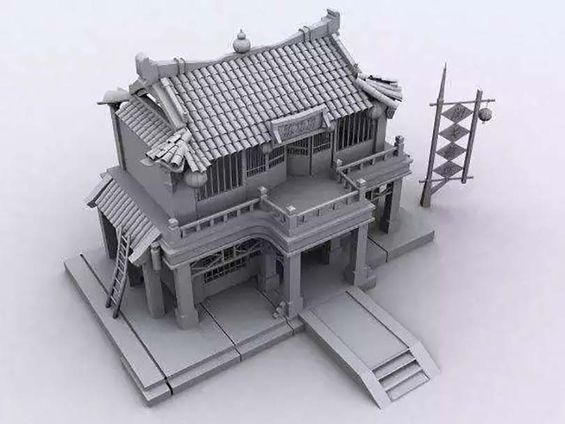 Maya中创建模型