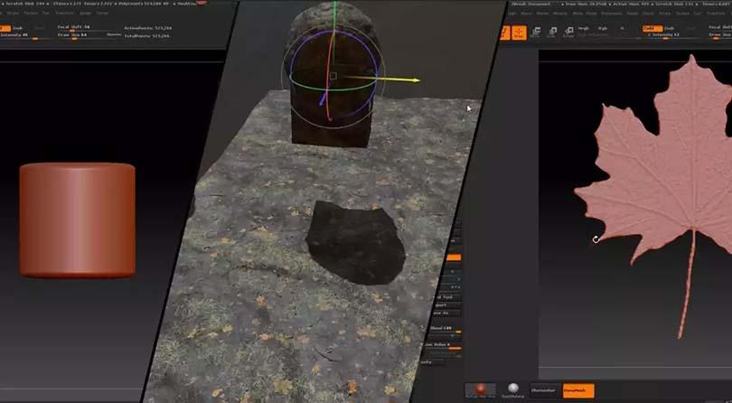 Maya场景纹理贴图绘制案例教程之实用场景全面解析