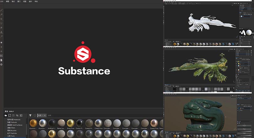 Substance Painter2018基础入门必备自学中文版教程之基础操作讲解