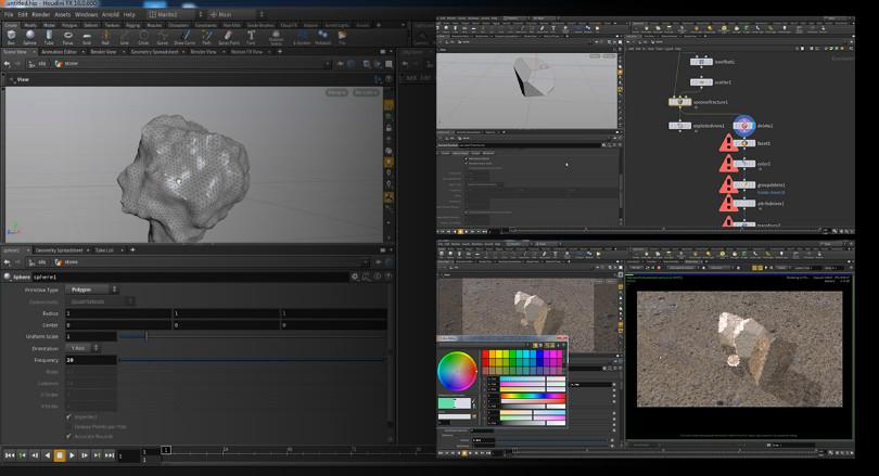 适用于所有HOUDINI镜头项目的分层渲染技术