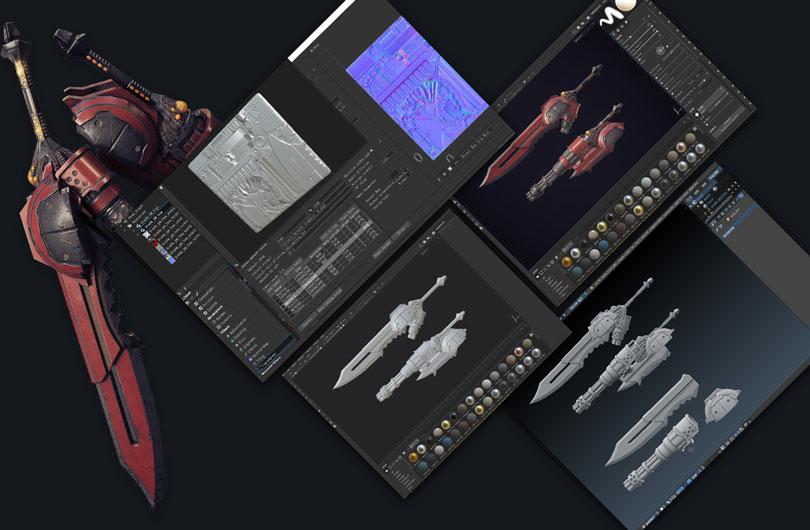 次世代科幻武器制作