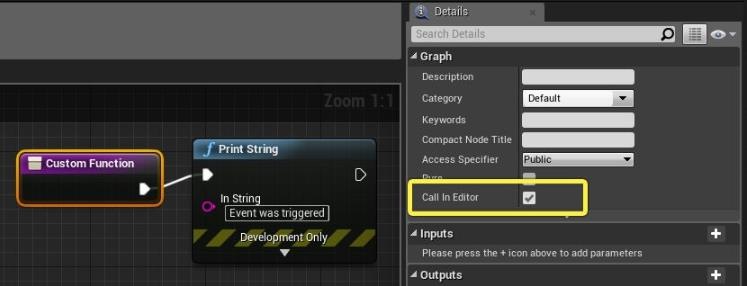如何在UE4的编辑器中调用蓝图