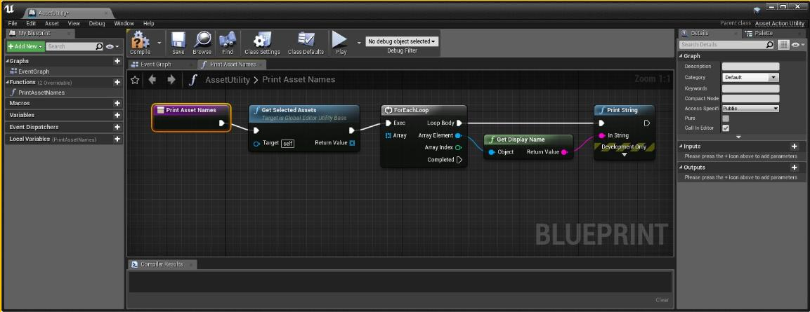 UE4脚本操作的基本步骤