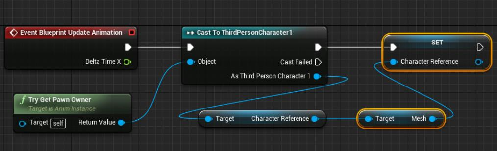 UE4如何复制动画角色的姿势