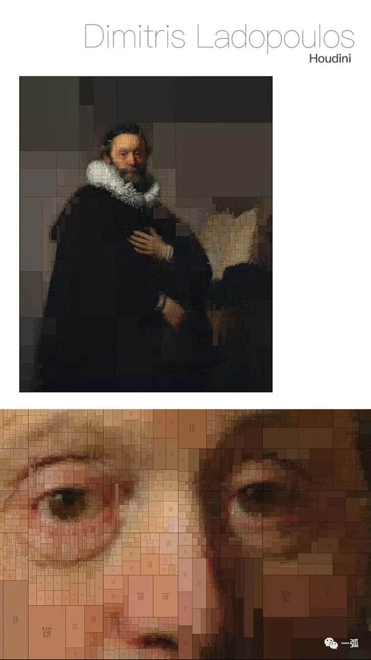 运用算法对古典绘画的数字解读