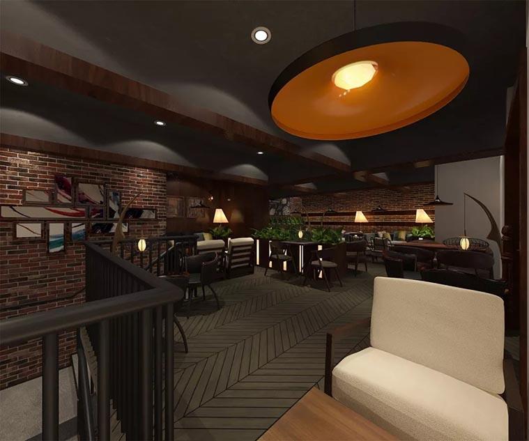 Loft设计特点之灯光