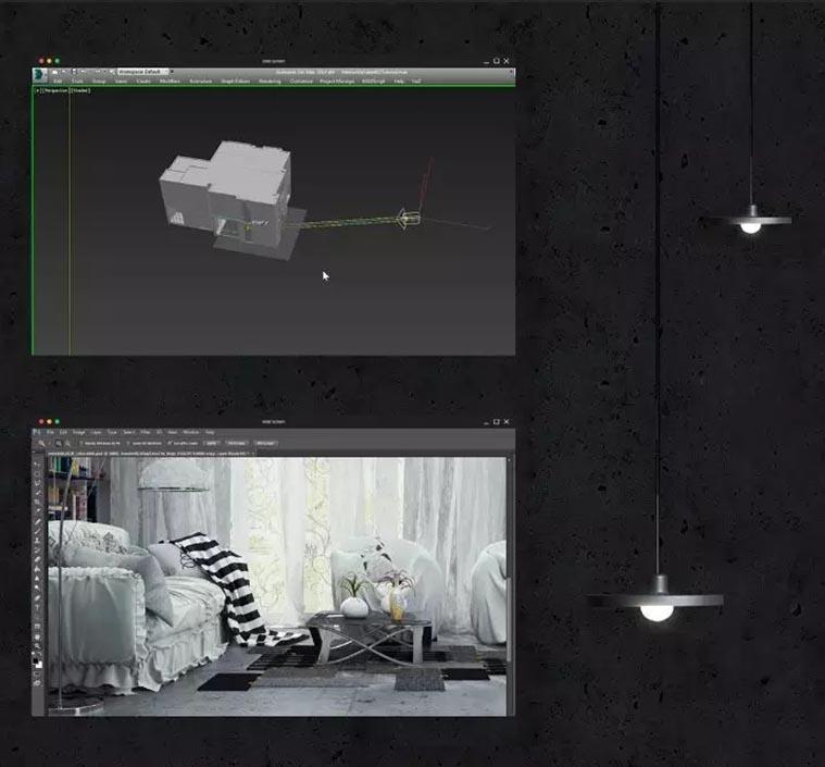 灯光与Vray渲染