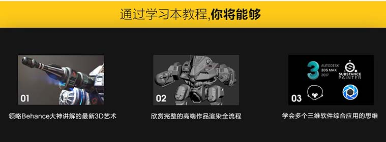 次世代游戏模型《重机甲战士》制作全流程教程学习收获